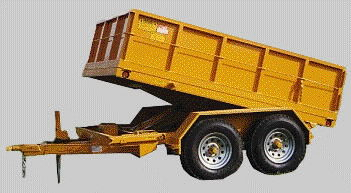 Where to find HYDRAULIC DUMP TRAILER in Longview