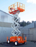 Rental store for 32  ROUGH TERRAIN SCISSOR LIFT in Longview TX