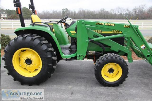 Where to find JOHN DEERE 4600 TRACTOR in Longview
