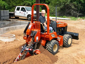 Where to find RIDING TRENCHER in Longview